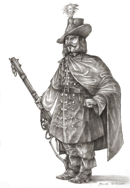 Hirseng - Gedanean Ducal Guard by JanBoruta