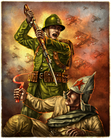 Fight the bolshevik by JanBoruta