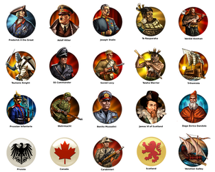Civilization 5 Mods Icons by JanBoruta