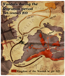 Civilization 5 Map: The Vandals