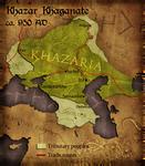 Civilization 5 Map: Khazar Khaganate