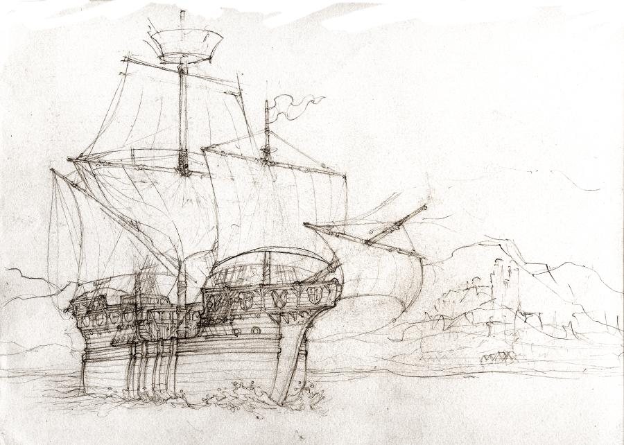 Explorer's Carrack by JanBoruta