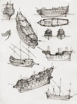 Ship Sketches