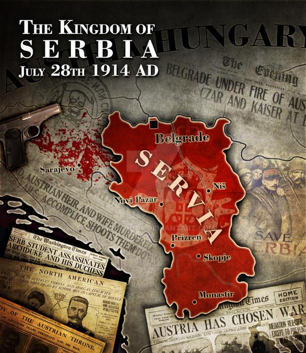 Civilization 5 Mod Map - Kingdom of Serbia by JanBoruta