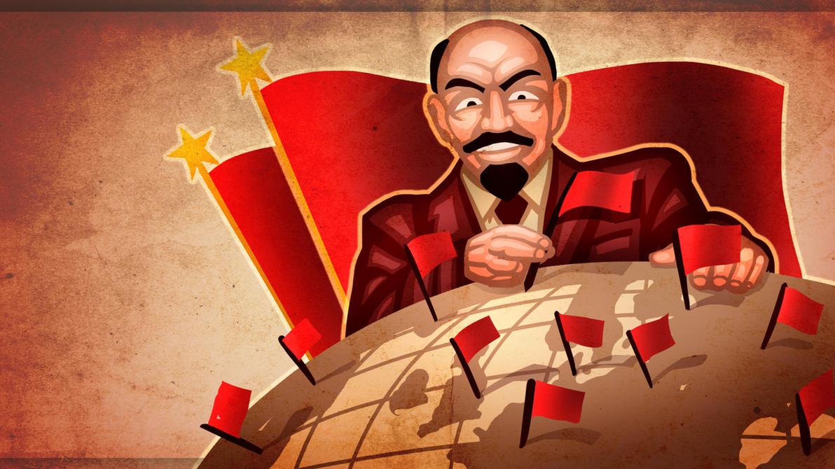 Lenin's Happy Dream by JanBoruta