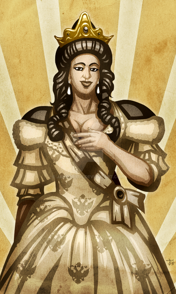 Queen Cathy by JanBoruta