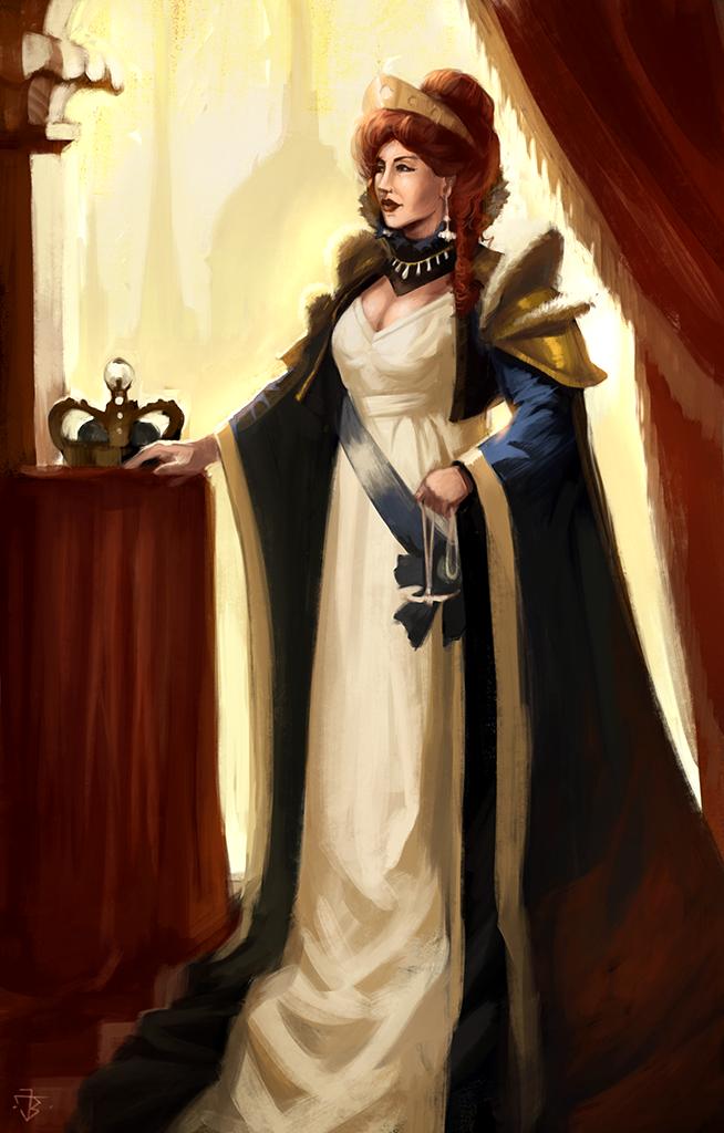 Machina Obscura - Queen Dorothy II by JanBoruta