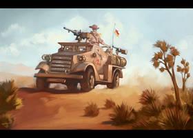Patrolling the Mojave