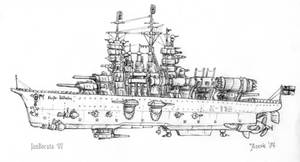 Brandenburg-class battleship by JanBoruta