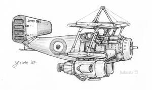 Dewoitine D.130 A.E-15 by JanBoruta