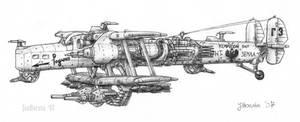 Antonow An-12 K by JanBoruta