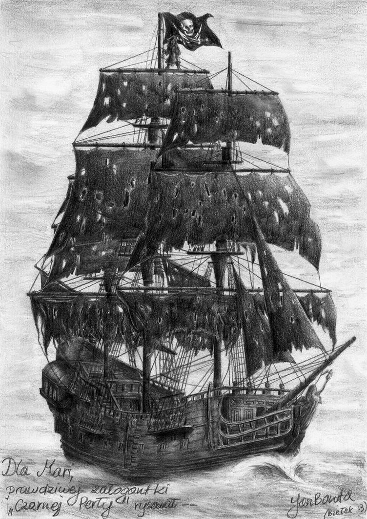 Pirate ship drawing tumblr