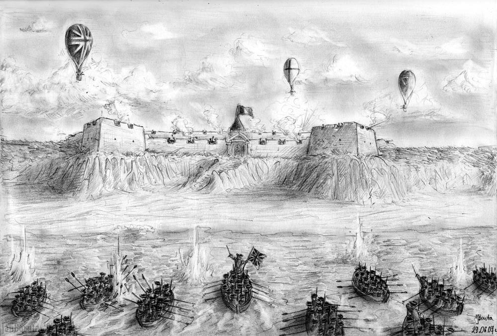 Omaha beach - 1815 by JanBoruta