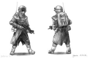 Israeli infantryman c. 2050
