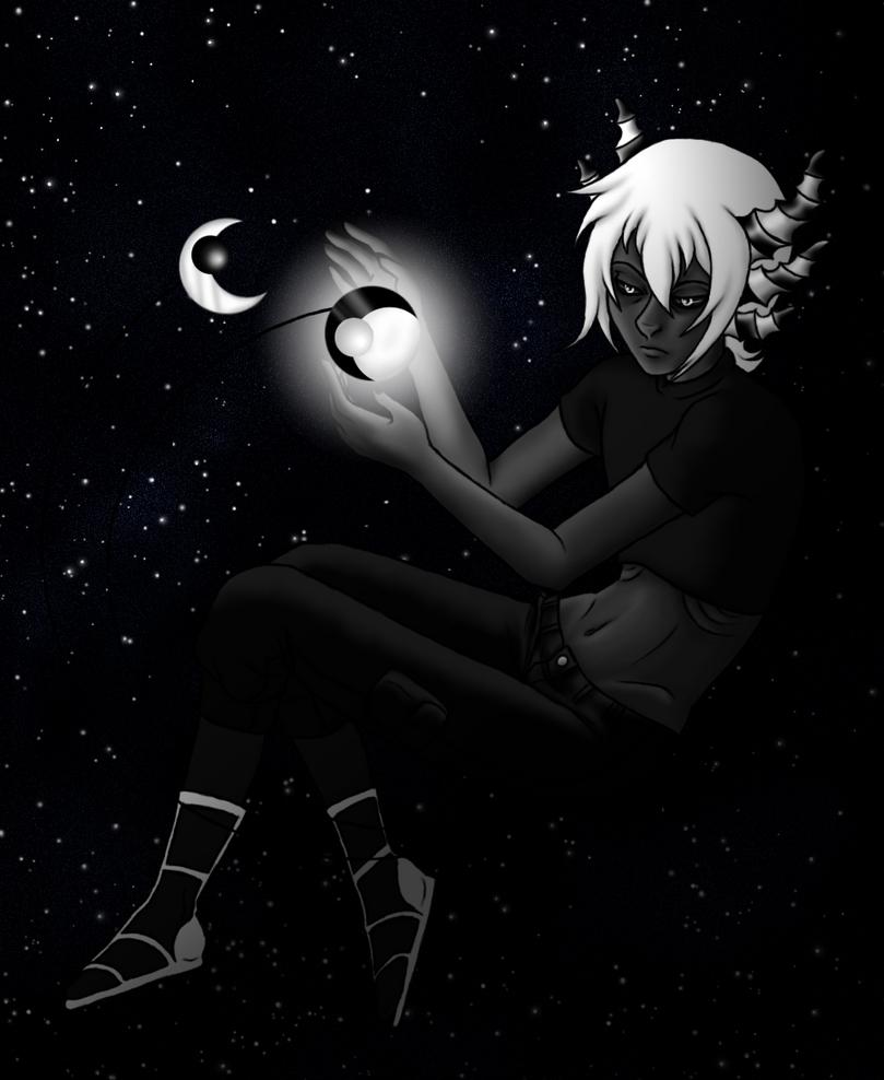 The Moon is my Sun by Migoto-Ookami
