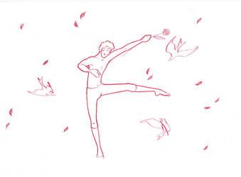 Danseur d'automne by BenMoustache