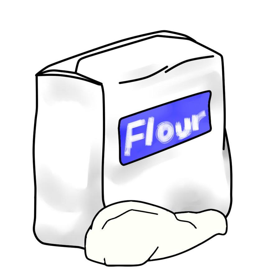 Flour Clipart by SA-JIN-GI on DeviantArt