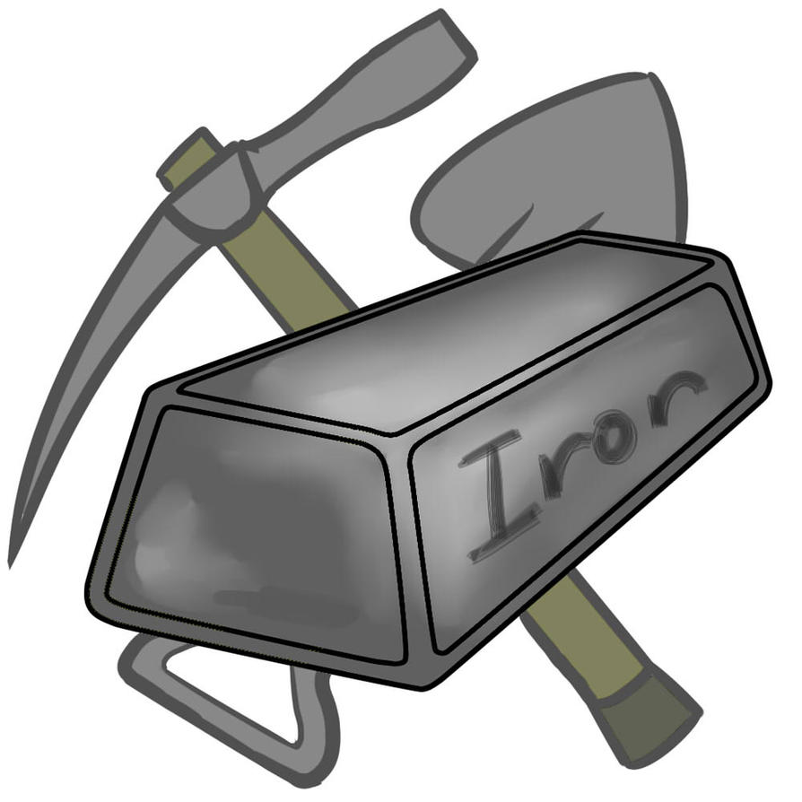 Clipart Of Iron