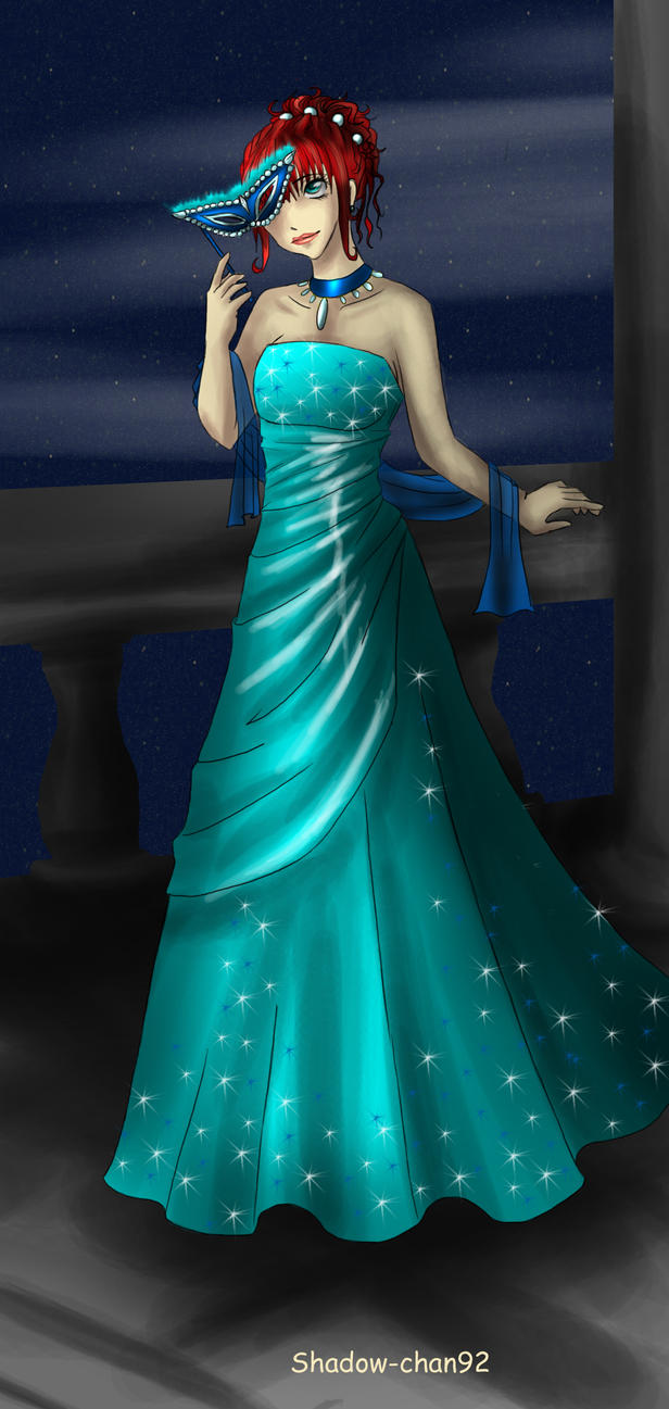 Ball gown by Shadow-chan93 on DeviantArt