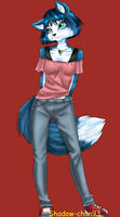 Krystal - casual clothes by Shadow-chan93