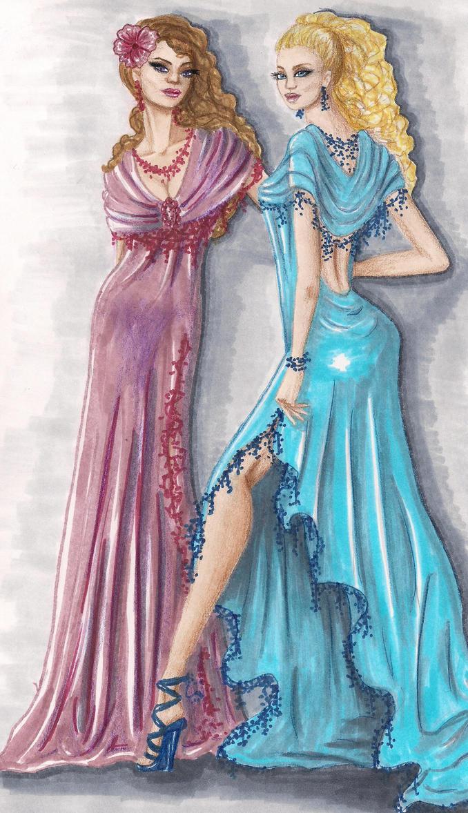 Fashion Illustration 13 By Love Anya On Deviantart