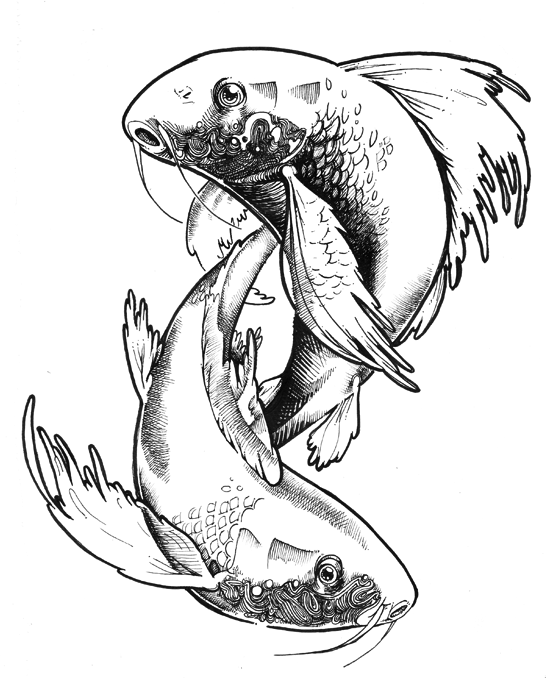 Pisces fish by AaronGeeraert on DeviantArt