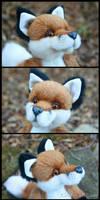 Fox Plush - facial details by deeed
