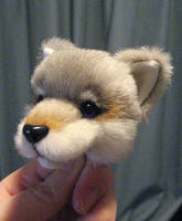 Wolf Plush Head WIP by deeed