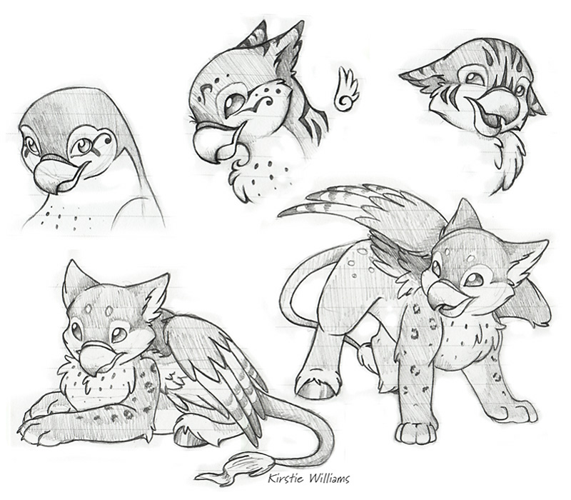 Hippogriff Doodles