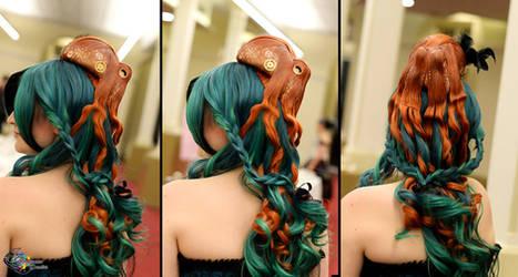Octopus Hairpiece