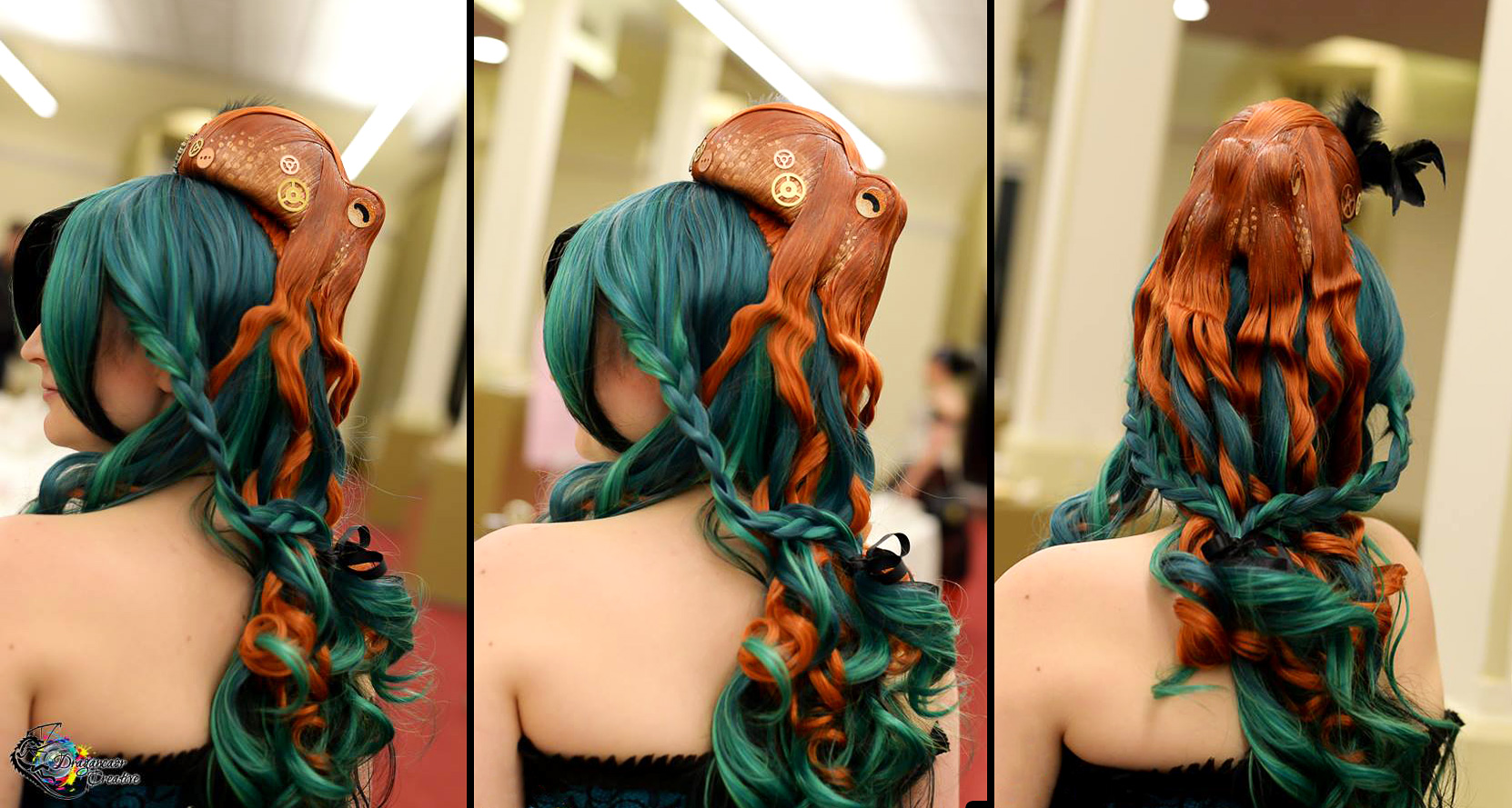Octopus Hairpiece by deeed