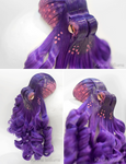 Purple Octopus Fascinator