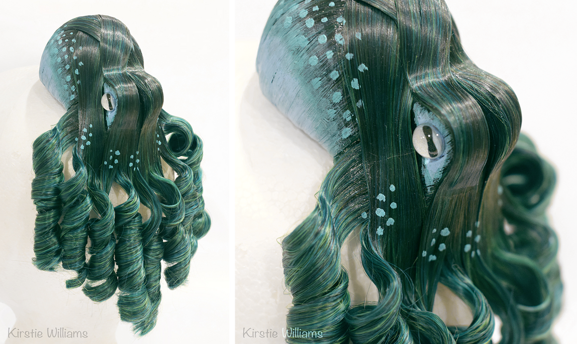 Green Octopus by deeed