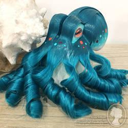 Ocean Green Theme Octopus Fascinator