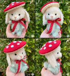 Bunny Toadstool by deeed