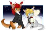 Axel and Roxas Caits