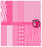 Baby girl shower papers