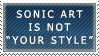 Sonic Art is Not Your Style by genkistamps
