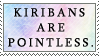 Kiribans are Pointless by genkistamps