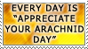 Appreciate Your Arachnid by genkistamps