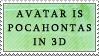 Pocahontas IN 3D by genkistamps