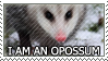 I am an Opossum by genkistamps