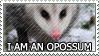 I am an Opossum by genkistamps