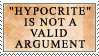 We're All Hypocrites by genkistamps
