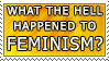 What Happened to Feminism by genkistamps