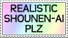 Realistic Shounen-Ai Plz by genkistamps