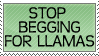 Stop Begging by genkistamps