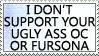 Your Fursona Sucks by genkistamps