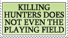 Don't Hunt The Hunters by genkistamps