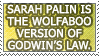 Wolfaboo Godwin's Law by genkistamps